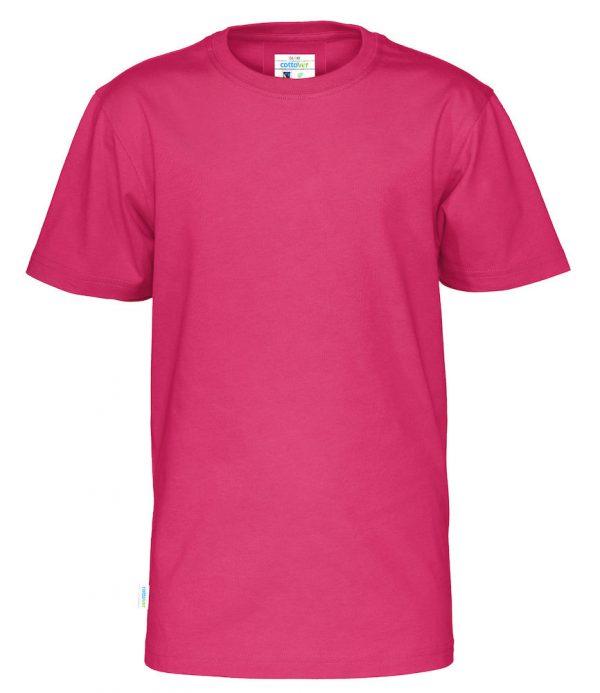 t-shirt met ronde hals - donker roze - kinderen