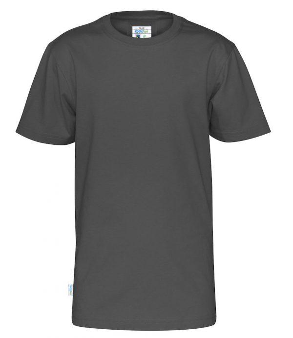 t-shirt met ronde hals - grijs - kinderen