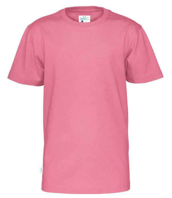 T-shirt met ronde hals - roze - kinderen