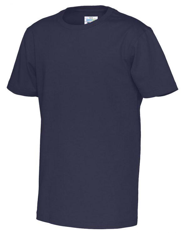 T-shirt met ronde hals- navy - kinderen