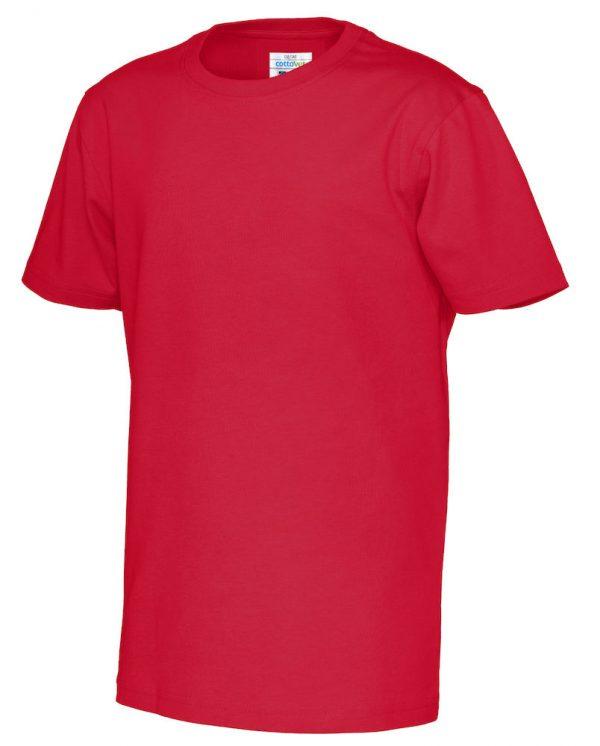 t-shirt met ronde hals - rood - kinderen
