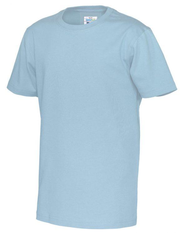 T-shirt met ronde hals - licht blauw - kinderen