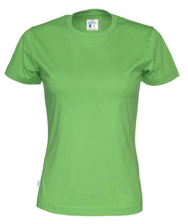 T-shirt met ronde hals - groen - vrouwen