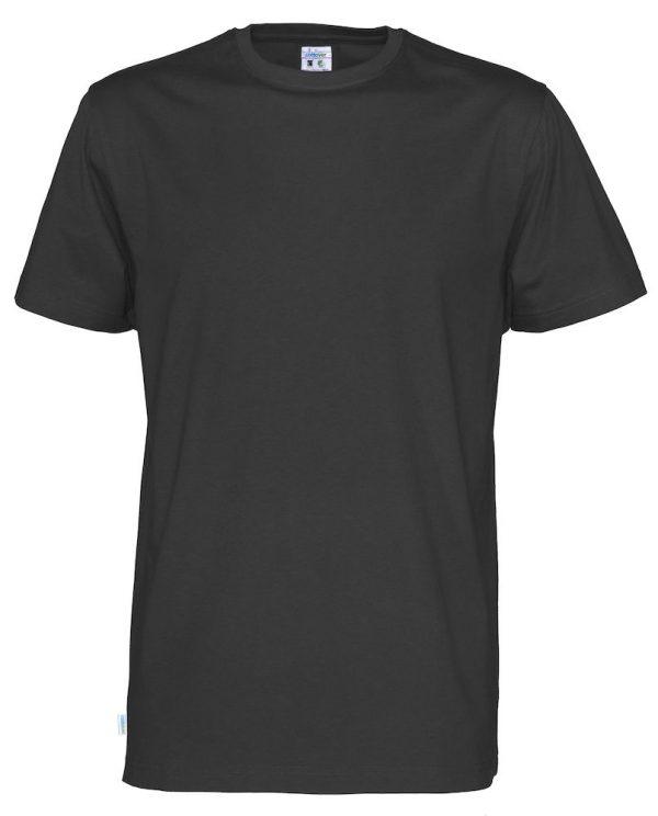 T-shirt met ronde hals - zwart - heren