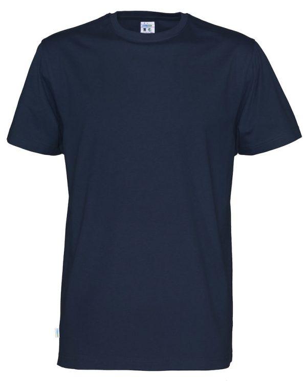 T-shirt met ronde hals - navy - heren