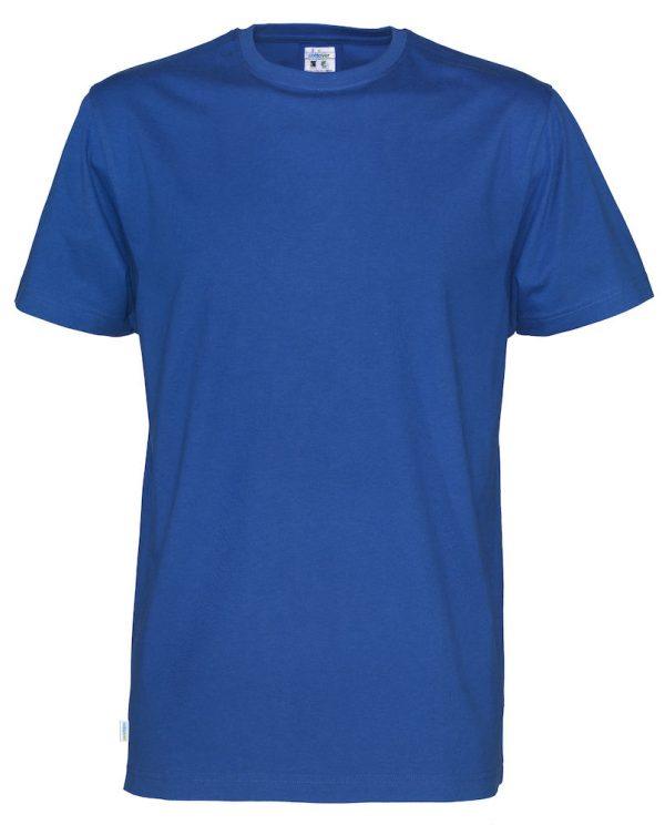 T-shirt met ronde hals - koningsblauw - heren