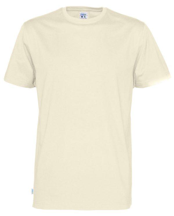 T-shirt met ronde hals- gebroken wit - heren