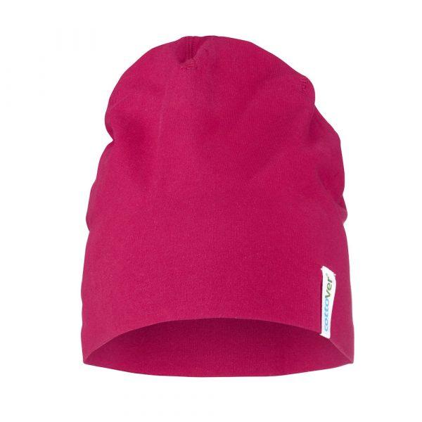 Beanie - donker roze
