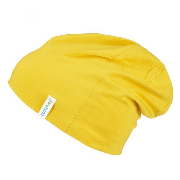Beanie - geel