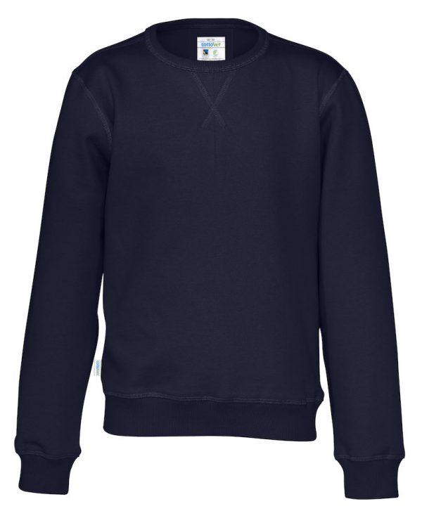 Sweater met ronde hals - navy - kinderen