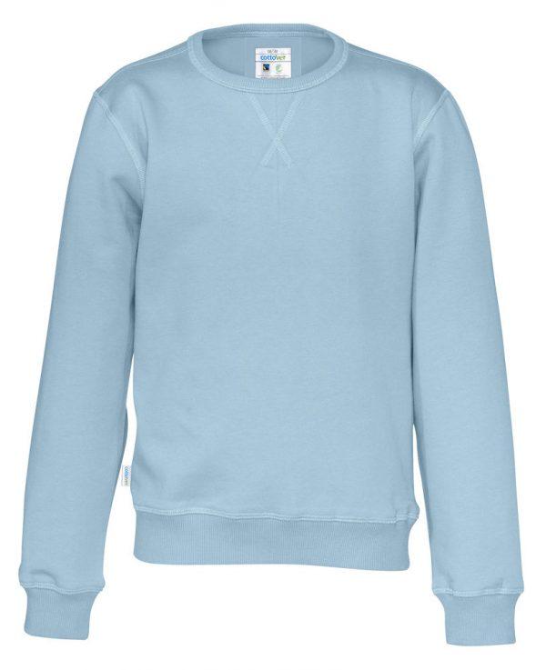 Sweater met ronde hals - licht blauw - kinderen