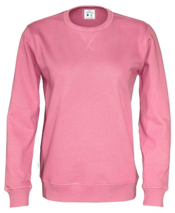 Sweater met ronde hals - roze