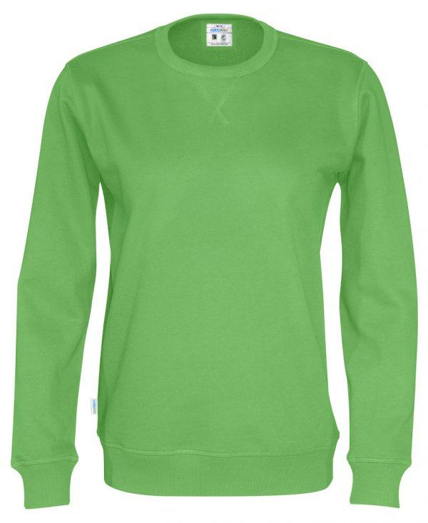 Sweater met ronde hals - groen
