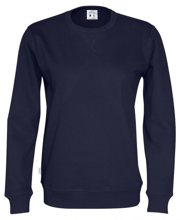 Sweater met ronde hals - navy