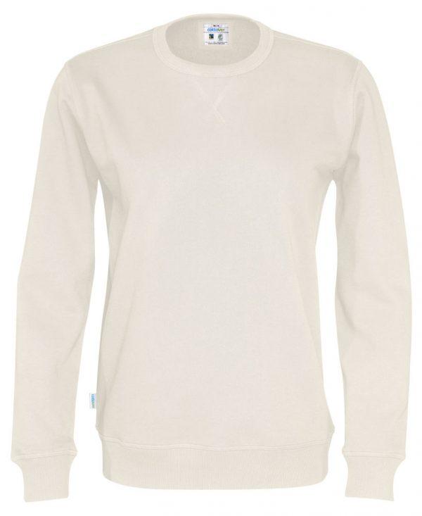 Sweater met ronde hals - gebroken wit