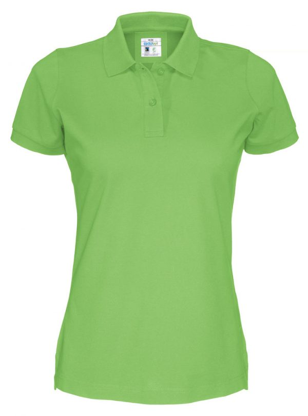 Polo met korte mouwen - groen - dames