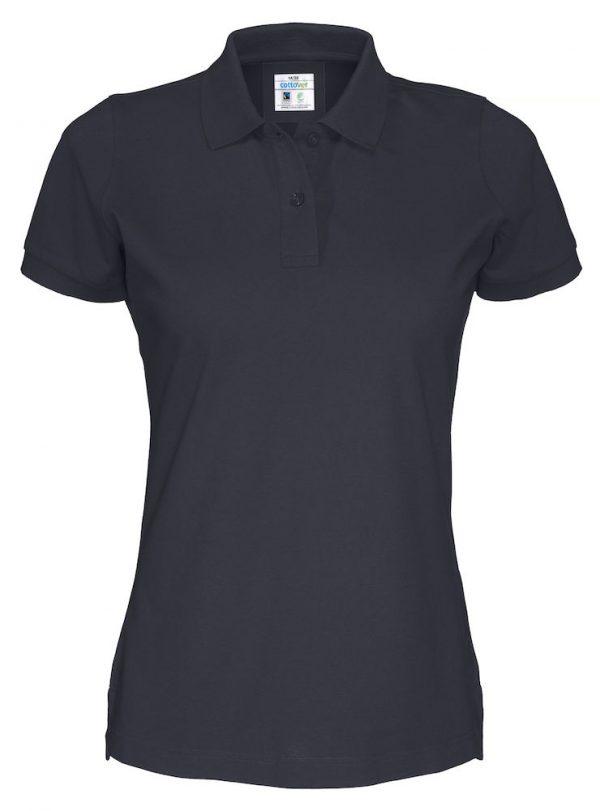 Polo met korte mouwen - navy - dames