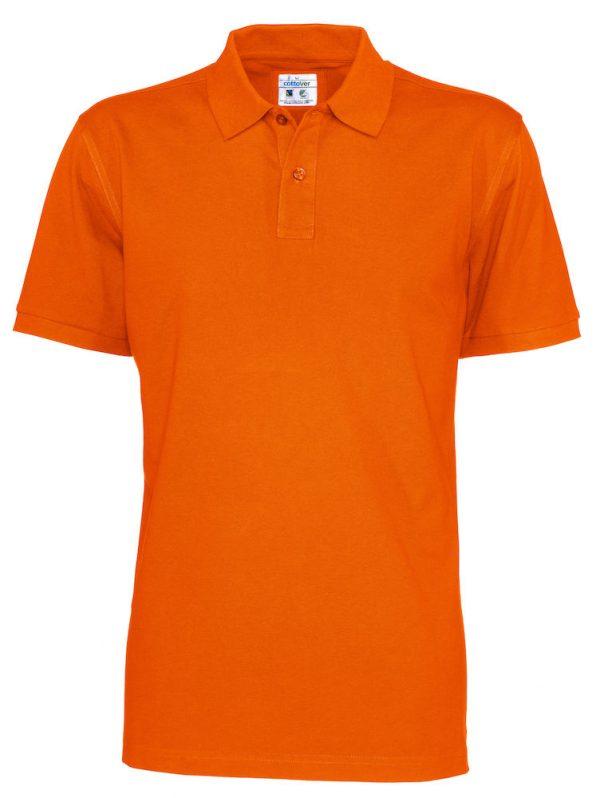 Polo met korte mouwen - oranje - heren