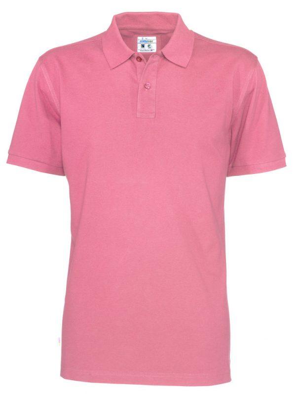 Polo met korte mouwen - roze - heren