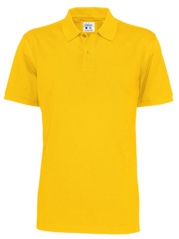 Polo met korte mouwen - geel - heren