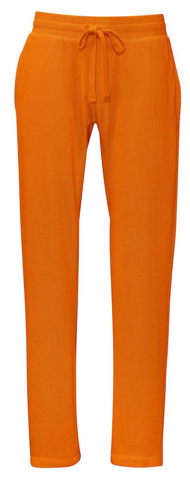 Joggingsbroek - oranje - heren