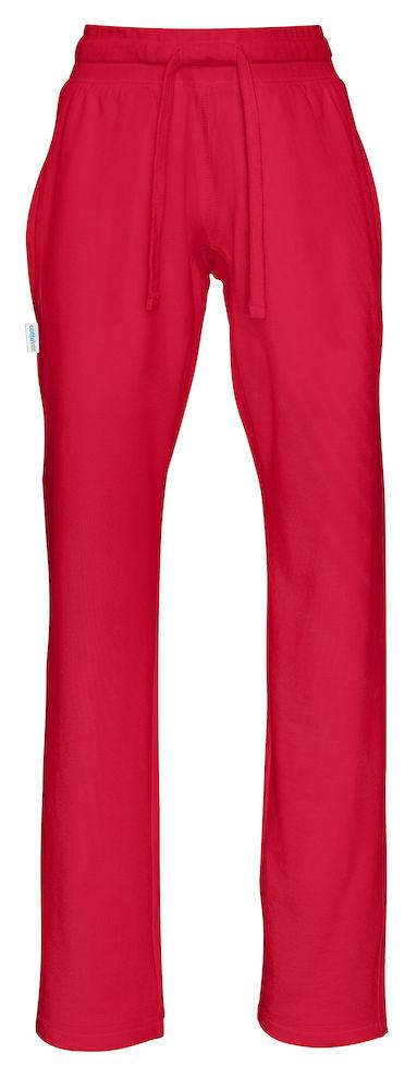 Joggingsbroek - rood - dames
